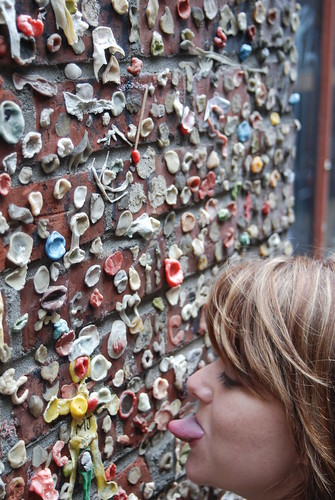 Me and the Gum Wall