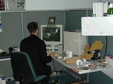 Me at work 11 years ago