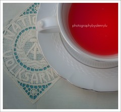 Cup of red tea (Enrico Lo Storto) Tags: red color love tea rosso amore tazza