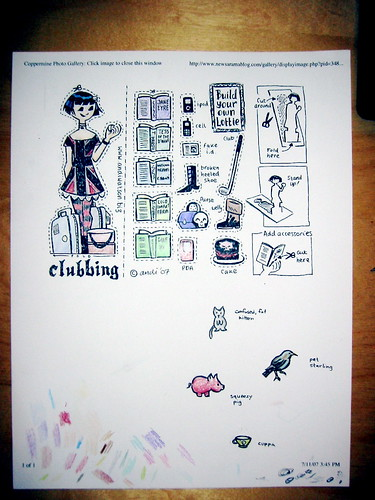 Lottie project sheet, another view