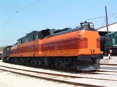 1919 Bi-Polar E-2 (Cindy シンデイー) Tags: road railroad mountain museum train stlouis railway mo missouri milwaukee locomotive cascade soe transportaion bipolar e2 shieldofexcellence httpwwwmuseumoftransportorg