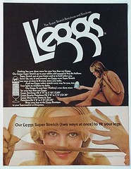 L'eggs Pantyhose (twitchery) Tags: vintage 70s pantyhose leggs vintageads vintagebeauty