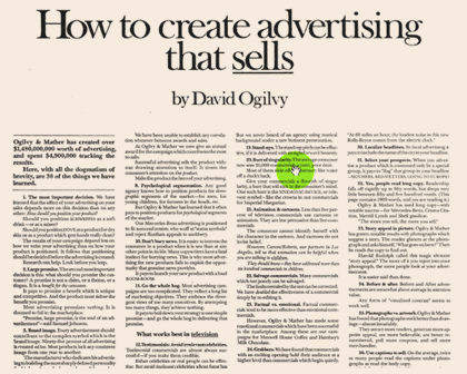 How to Create Advertising That Sells