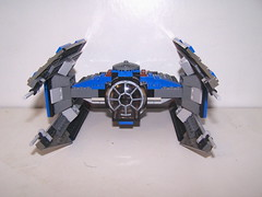 TIE-Avenger04 (jpcjedi) Tags: mod fighter lego tie vs advanced avenger moc ywing legotieavenger