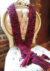 Brown Sheep Burlyspun Scarf