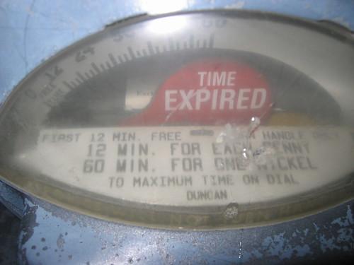 penny parking meters