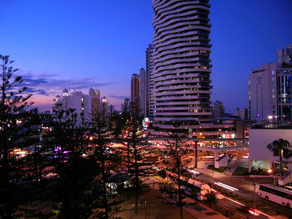 View from Mantra on Broadbeach, Gold Coast, Australia