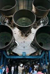 Saturn 5 (lecates) Tags: nikon florida 5 five stage engine 1755mmf28g rocket kennedyspacecenter launch apollo spaceshuttle exhaust endeavor saturnv d80 sts118 bananacreek