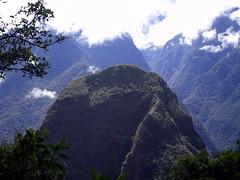 Mountain at Machu Picchu