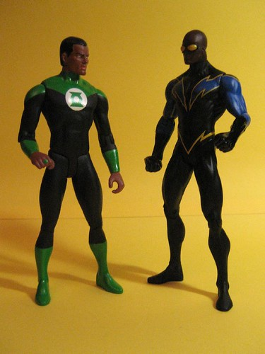 John Stewart and Black Lightning