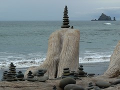More Stacked Stones - by sea turtle