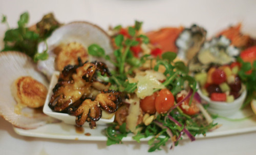 Seafood platter for 2  from Addisons Seafood Restaurant ($40)