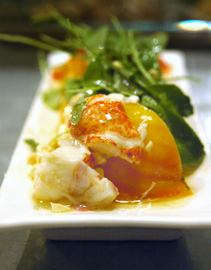 Bar Crudo Lobster Salad
