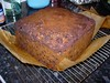 Rich Fruit Cake (Amontillada) Tags: uk england cooking cake baking unitedkingdom homemade businesstrip bromley englishfood deliasmith richfruitcake