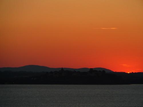 polvese-tramonto