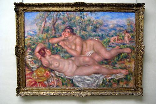 Paris - Musée d'Orsay: Pierre-Auguste Renoir's Les baigneuses by wallyg.