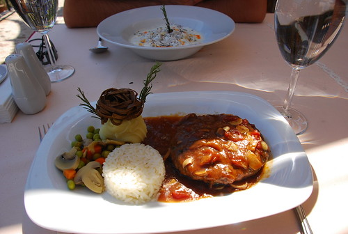 lunch at Alaturca (Goreme)