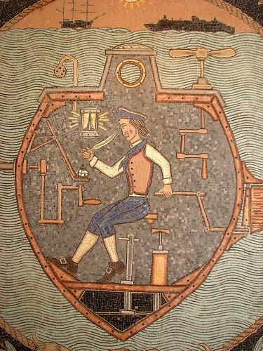 Duke Riley mosaic