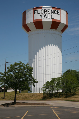 Florence Y'All Water Tower