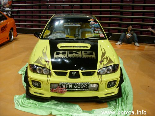 proton modified car