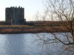 Threave castle - former stronghold of the 'Black' Douglas clan