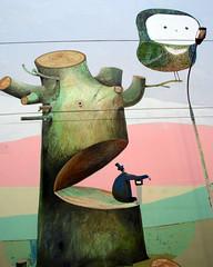The Seeker Of The Truth... (poly_mnia) Tags: school trees friends people urban streetart man color colour tree men art colors wall geotagged graffiti colours friendship athens urbanart explore greece owl schools owls carpediem explored  dearflickrfriend merhaba merhb  geniiloci geo:lat=37986337 geo:lon=23754882