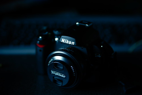 Nikon D40 with Voigtländer ULTRON 40mm F2 SLII Aspherical(Ai-S)