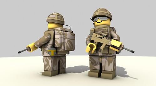 British Paratrooper - Iraq 2003