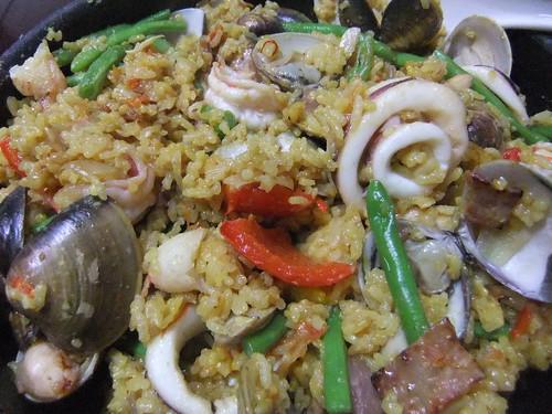 西班牙海鮮燉飯 048