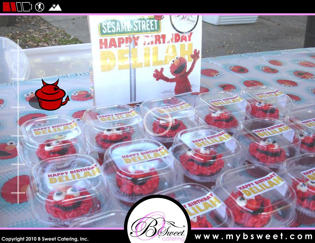 Cupcakes Take The Cake: Red velvet Elmo cupcakes by B Sweet