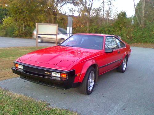 1983 Toyota Celica Supra. Farragut, TN 11-13-2010 17:32hrs