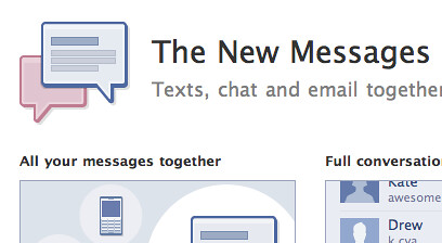 Introducing Facebook Messages
