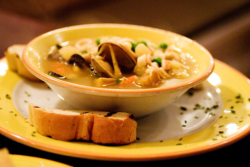a seafoody soup