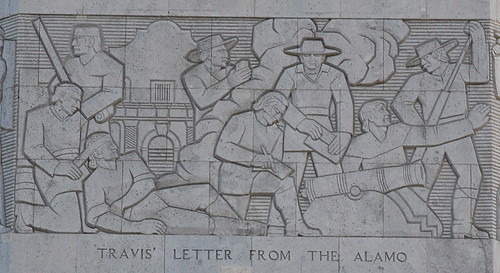 Travis' Letter from the Alamo by adhoc alley.
