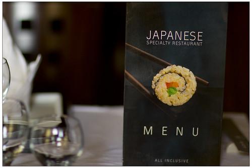 Riu Palace Cabo misaki japanese dinner