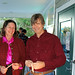 Annabel & Keith Schillo check in to party