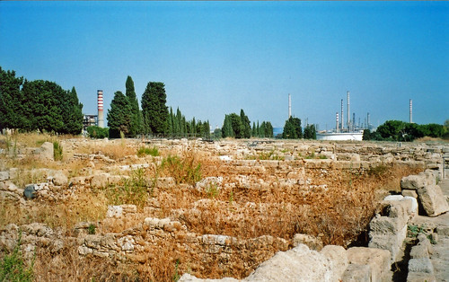 Buildings at Megara Hyblaea