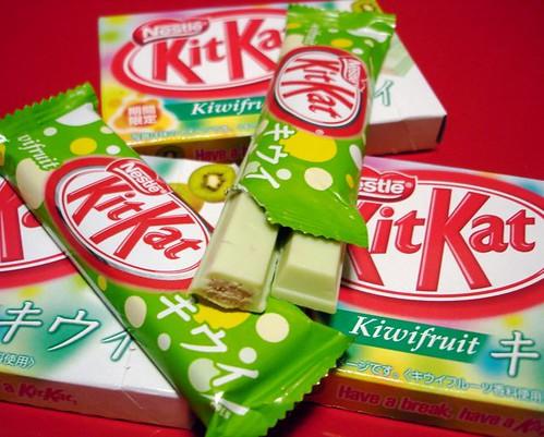 Kiwifruit KitKat