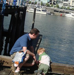boys on the pier (burke_wicker) Tags: public market granvilleisland publicmarket