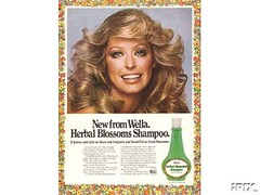 Wella Herbal Blossoms Shampoo (twitchery) Tags: vintage hair shampoo 80s 70s conditioner farrah vintageads vintagebeauty