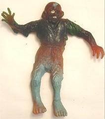 Australian Zombie Rubber Jiggler (toyranch) Tags: zombie australian rubber jiggler