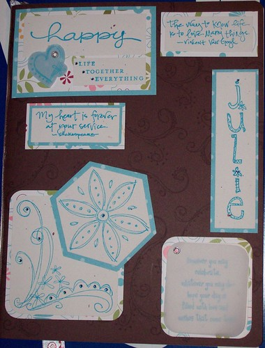 covered Moleskine notebook