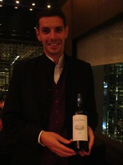 Sommelier, whose name is Pierre as well... (Rebecca @ Wine is Beautiful) Tags: mandarinoriental pierregagnaire