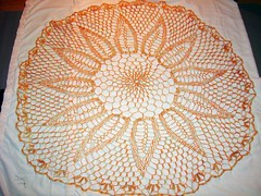 Chrysanthemum Tea Shawl 1