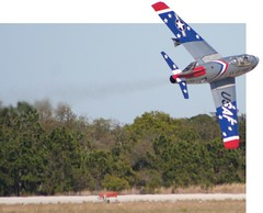 F-86 Sabre Jet in 3D (jkc photos) Tags: sky usa tree bird america plane advertising geotagged photography star three us flying photo 3d amazing cool jump flickr force view unitedstates florida sale map or flag air united stock flight jet engine location airshow telephoto agency page atlas layer rocket states cooler float sell propeller geotag 75300 purchase coordinates prop warbird soar tico dimensional fotolia e20ci
