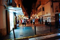 Vendors and shopping all night. (MyLSD) Tags: shopping island spain europe ibiza lamarina