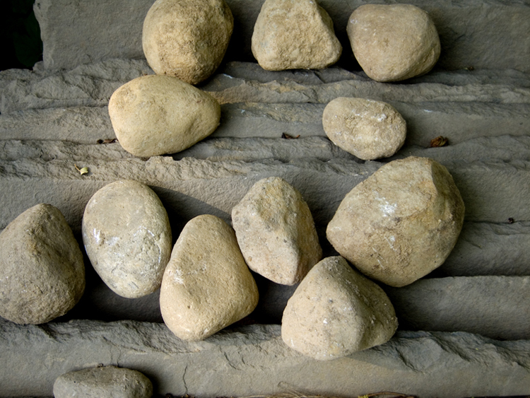 another random thought: stones