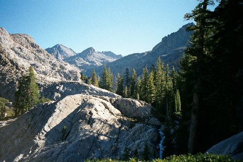 Upper North Fork basin