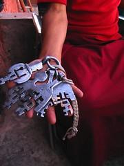 Keys to locked doors of life (Indian Gypsy) Tags: travel india de monastery locks leh lamas leys ladakh vaishali sarkar gumpaslock vaishalidesarkar
