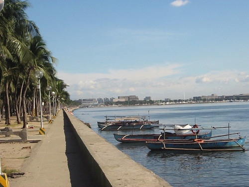 A view of the actual Manila Bay